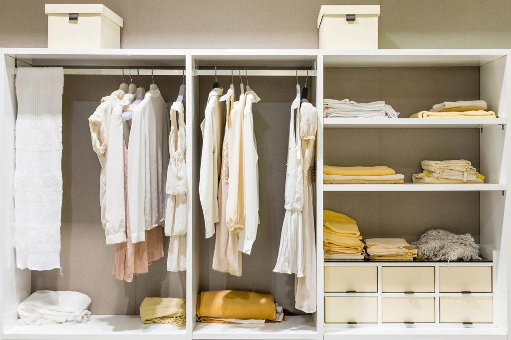 Teyo Diseños: estructura armario blanco