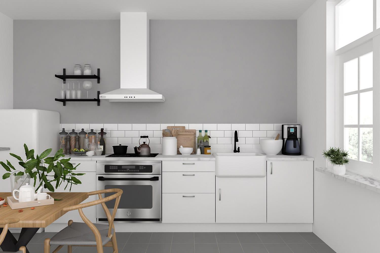 Teyo Diseños: cómo son las cocinas de estilo nórdico