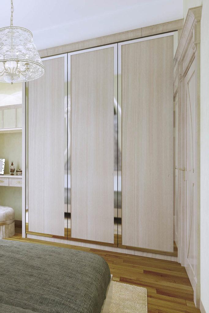 Teyo Diseños: armario beige habitación