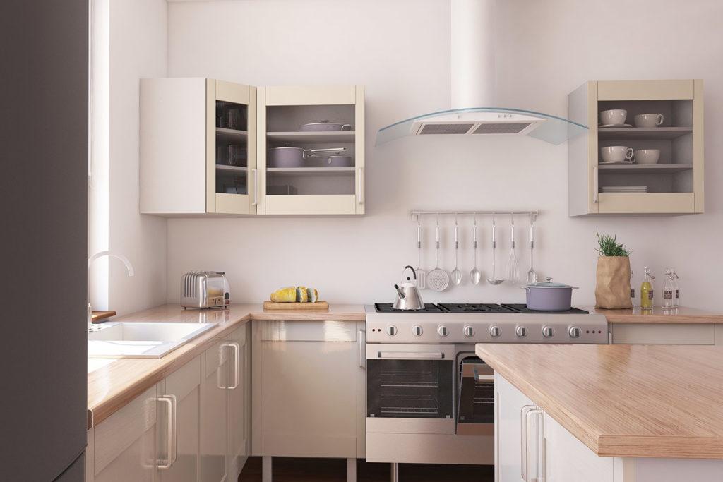 Teyo Diseños: cocina en esquina