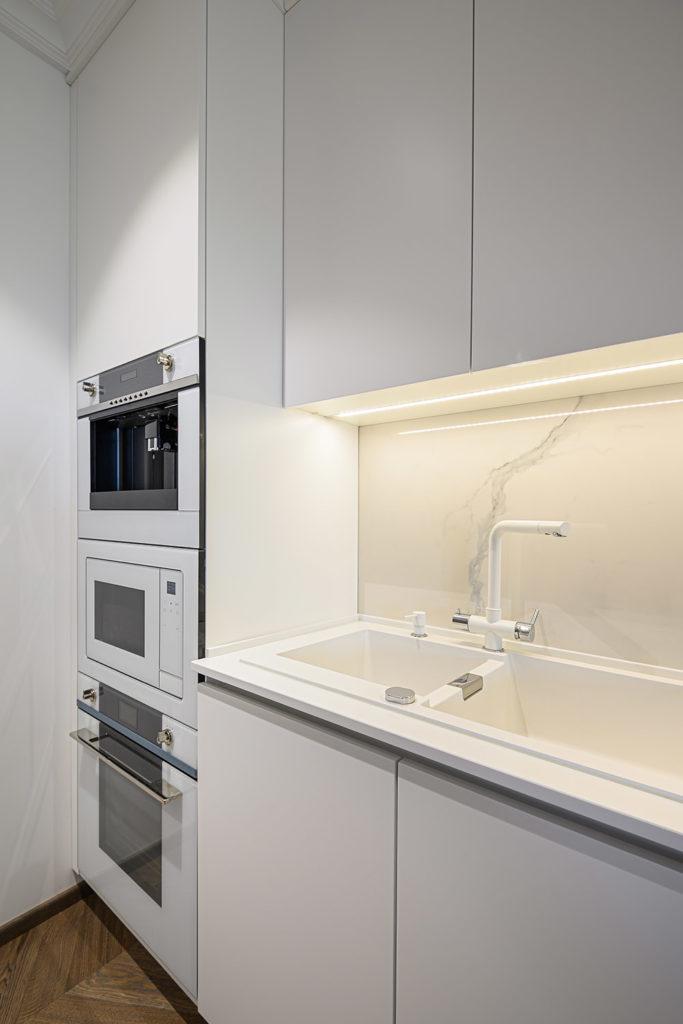 Teyo Diseños: cocina grifo blanco