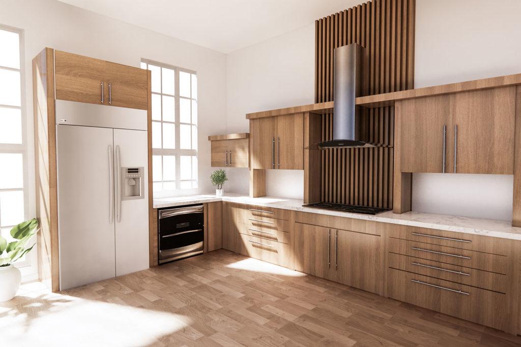 Teyo Diseños: materiales en una cocina de diseño