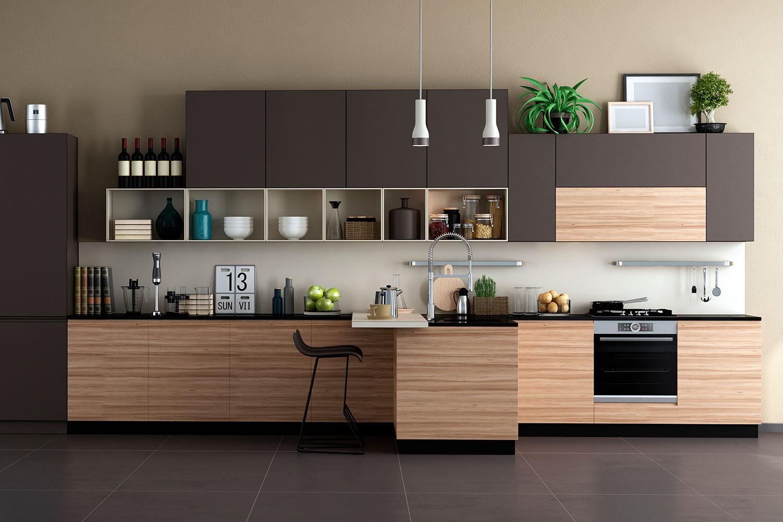 Tendencias en cocinas: madera en los materiales